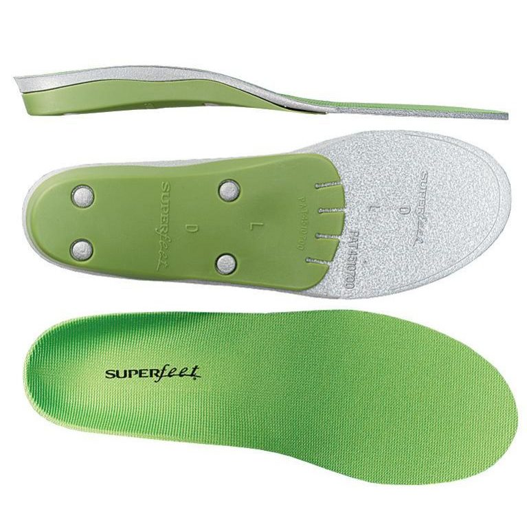 Green Superfeet Shock Absorption Professional Grade Orthotic Odor Control Boot Insert Sydney Australia