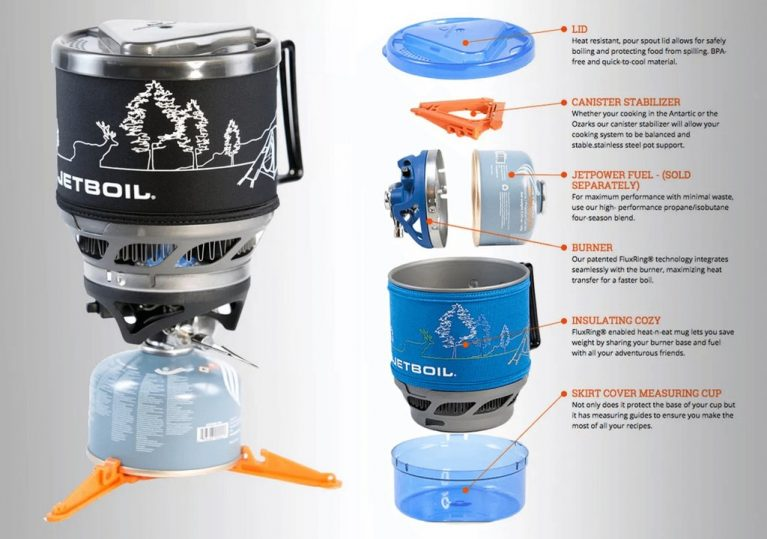 Jetboil Minimo Camping Stoves Sydney, Melbourne, Canberra, Australia