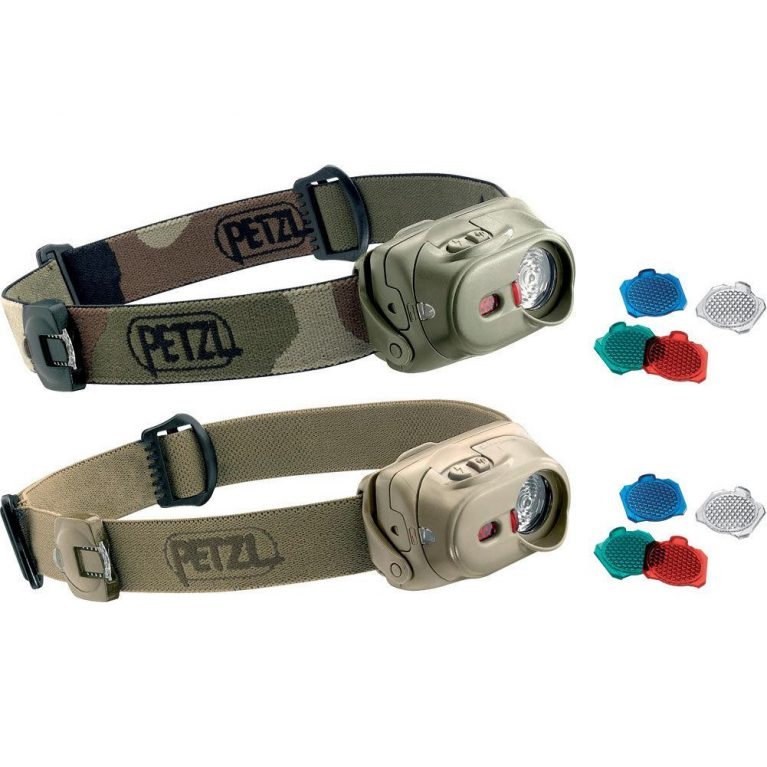 Petzl Tactikka Rgb Black Headlamp Tourch Brisbane Qld Australia