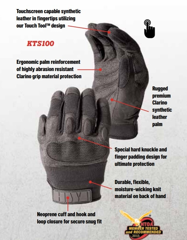 Hwi Kts100 Hard Knuckle Duty Gloves Online